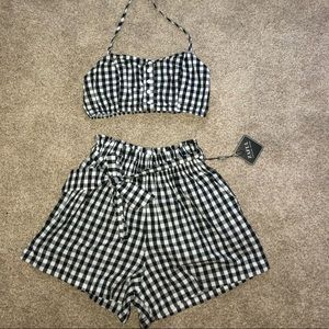📷Two Piece Gingham Set📷